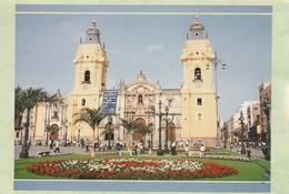 PERU. BASILICA CATEDRAL DE LIMA. LI-106. (830). ESCRITA. - Perú