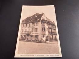 CPA (67). Obernai. Hôtel De La Couronne.  (H2078). - Obernai
