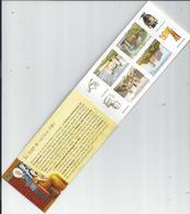 AUTOADHESIFS CHATEAUX ET DEMEURES 2012  1ere Page TIMBRES COLLES A L'ENVERS RARE Carnet Neuf Et Complet - Abarten Und Kuriositäten