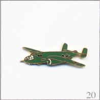Pin's Armée - Aviation / Avion Bombardier B-25 Mitchell. Non Estampillé. EGF. T687-20 - Luftfahrt