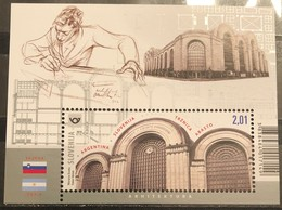 Slovenia, 2019, Joint Issue With Argentina (MNH) - Emisiones Comunes