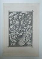 Ex-libris Illustré Vers 1900 - V. HEFNER - ALTENECK - Bookplates