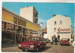 Cpm 92 Publicité Pour  Succursale De Boulogne-Billancourt Renault - Boulogne Billancourt