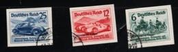 1939 17. Feb. Int. Automobilaust. Mi DR 686 Sn DE B134 Yt DR 627 Sg DR 674 Gest. O - Deutschland