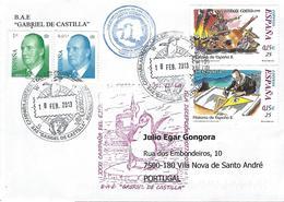 "Spain - ""Gabriel De Castilla"" BAE - Timbres"