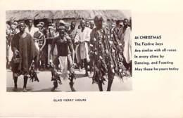 "** Real Photo / Carte Photo ** SIERRA LEONE - Glad Merry Hours - Format CPA "" Vernie "" - Black Africa Afrique Noire - Sierra Leone"