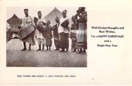 """** Real Photo / Carte Photo ** SIERRA LEONE -  Old Tunes Are Sweet ... Format CPA """" Vernie """"  Black Africa Afrique Noire - Sierra Leone"""