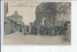 ST JEAN LE BLANC   Le Marche  Et La Mairie - Autres Communes