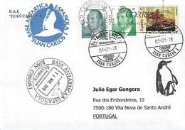 """Spain - """"Juan Carlos I"""" Base - Timbres"""