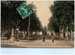 64 GARLIN - Place Du Marcadieu, Avenue Carnot, Place Victor-Hugo, Rue Henri-Cézérac - Autres Communes