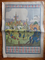 WW1 - Affichette 2ème Emprunt De La Défense Nationale. Affichette Originale Patriotique De L'illustrateur Alsacien Hansi - Documents Historiques