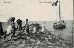 La Panne Sur Le Brise-Lames Circulée En 1909 - De Panne