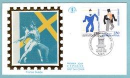 FDC France 1994 - Relations Culturelles France Suède - Fernand Léger - Ballets Suédois - YT 2868 Et 2869 - Paris - FDC