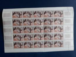 MADAGASCAR 1956 - N° 328 NEUF** LYCEE GALLIENI PLANCHE FEUILLE COIN DATE 1956 - Madagascar (1960-...)
