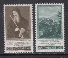 Vatican MNH Michel Nr 481/82 From 1965 / Catw 0.50 EUR - Vatican