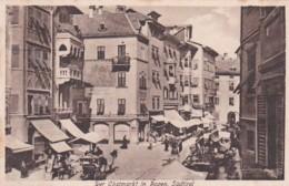 279628Bozen, Der Obstmarkt (sher Kleines Falten Im Ecken) - Bolzano (Bozen)