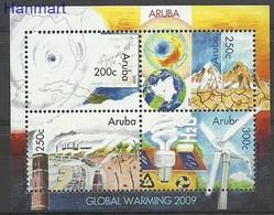 Aruba 2009 Mi Bl 10 MNH ( ZS2 ARBbl10 ) - Voitures