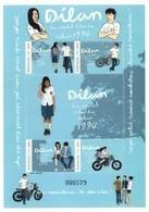 Indonesia - Indonesie New Issue 06-03-2018 (Vel Dilan)  ZBL 3475A-3475D - Indonésie