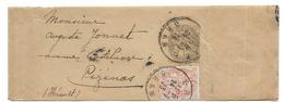 Alg64 Bande Journal Entier Blanc En Algérie (1913) - Lettres & Documents