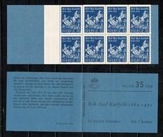 Sverige 1964 Facit H162**  Yv  C514a** Complete Booklet MNH - Carnets