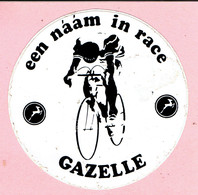 Sticker - GAZELLE Fietsen - Een Naam In Race - Stickers