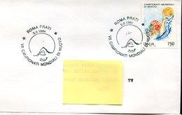 50359 Italia, Special Postmark 1994 Roma  , World  Swimming Champ. - Swimming