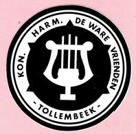 Sticker - KON. HARM. DE WARE VRIENDEN - TOLLEMBEEK - Stickers