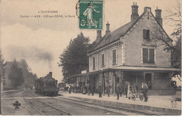 15 VIC SUR CÈRE La Gare - Frankreich