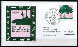 "Germany 2005 Künstler First Day Cover Mi.Nr.2483 Ersttagsbrief ""100 Jahre Naturfreunde,Bäume,Wald ""1FDC - Bäume"