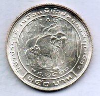 THAILAND, 150 Baht, Silver, Year 1977, KM #113, FAO. - Tailandia