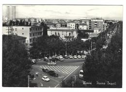 2334 - RIMINI PIAZZA TRIPOLI ANIMATA 1964 - Rimini