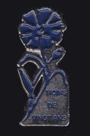 60745-Pin's. Bleuet De France Est Une Association.. - Associations
