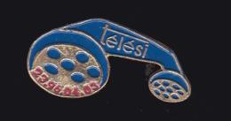 60747-Pin's. Telesì Est Une Entreprise De Communication De Turin - Telecom De Francia