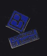 60763-Pin's. Lyonnaise De Banque... - Banken