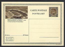 E05 - Belgium - 1931 - Postal Stationery 40c Albert - World Expo Brussels - Mint - Illustrierte Karten