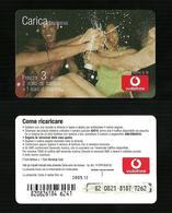 22) Ricarica Vodafone - Ricarica Esplosiva Da 3 Euro Scad 2009.12 - Italia