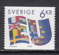 Sweden MNH Michel Nr 1880 From 1995 / Catw 1.80 EUR - Sweden
