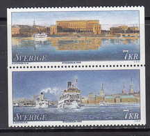 Sweden MNH Michel Nr 2056/57 From 1998 / Catw 4.00 EUR - Sweden