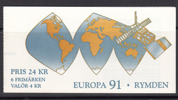 Sweden MNH Michel Nr MH-159 From 1991 CEPT / Catw 9.00 EUR - 1981-..