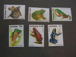 Flora Fauna  ** MNH Lot - Surinam