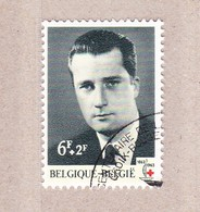 1963 Nr 1268 Gestempeld Met Gom**,zegel Uit Reeks Eeuwfeest Rode Kruis. - België