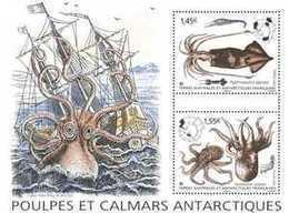 TAAF 2020 - Poulpes Et Calmars Antarctiques ** - Ungebraucht