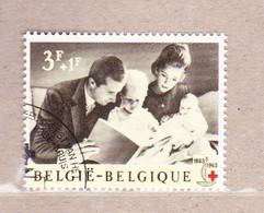 1963 Nr 1266 Gestempeld Met Gom**,zegel Uit Reeks Eeuwfeest Rode Kruis. - België