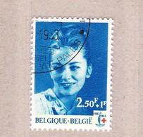 1963 Nr 1265 Gestempeld Met Gom**,zegel Uit Reeks Eeuwfeest Rode Kruis. - België