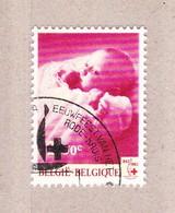 1963 Nr 1264 Gestempeld Met Gom**,zegel Uit Reeks Eeuwfeest Rode Kruis. - België