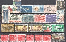United States 1962 Year Set - Mi.820-837 Used - Años Completos