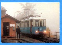 OLI097, Chemin De Fer Touristique Blonay - Chamby, Montreux-Vevey-Suisse,Tram 28 Ex Lausanne à Chamby, GF, Non Circulée - Tranvía