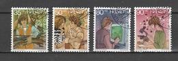 SVIZZERA Us  1989    Mi  1405-08  -  Annullo 1°giorn0o  - Ersttagstempel   -   Vedi Foto ! - Svizzera