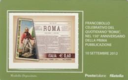 TESSERA FILATELICA VALORE 0,6 EURO ROMA (FY216 - Filatelistische Kaarten