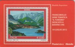 TESSERA FILATELICA VALORE 0,6 EURO BAVENO (FY221 - Filatelistische Kaarten